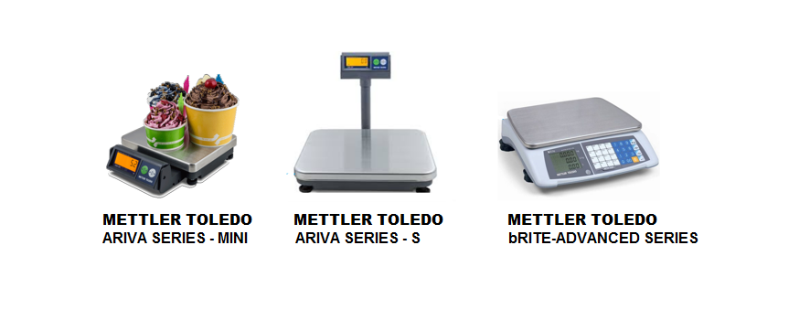 POS TABLE-TOP WEIGHING SCALES